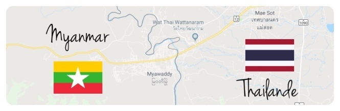 TDM - FRONTIERE MYANMAR THAILANDE